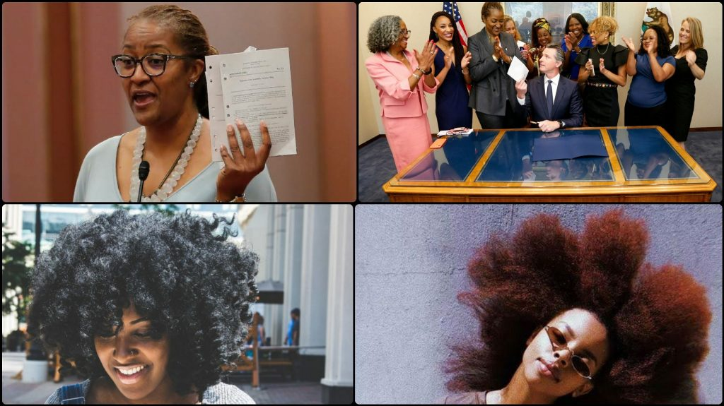 California Becomes 1st US State To Outlaw The Discrimination Against Natural Hair