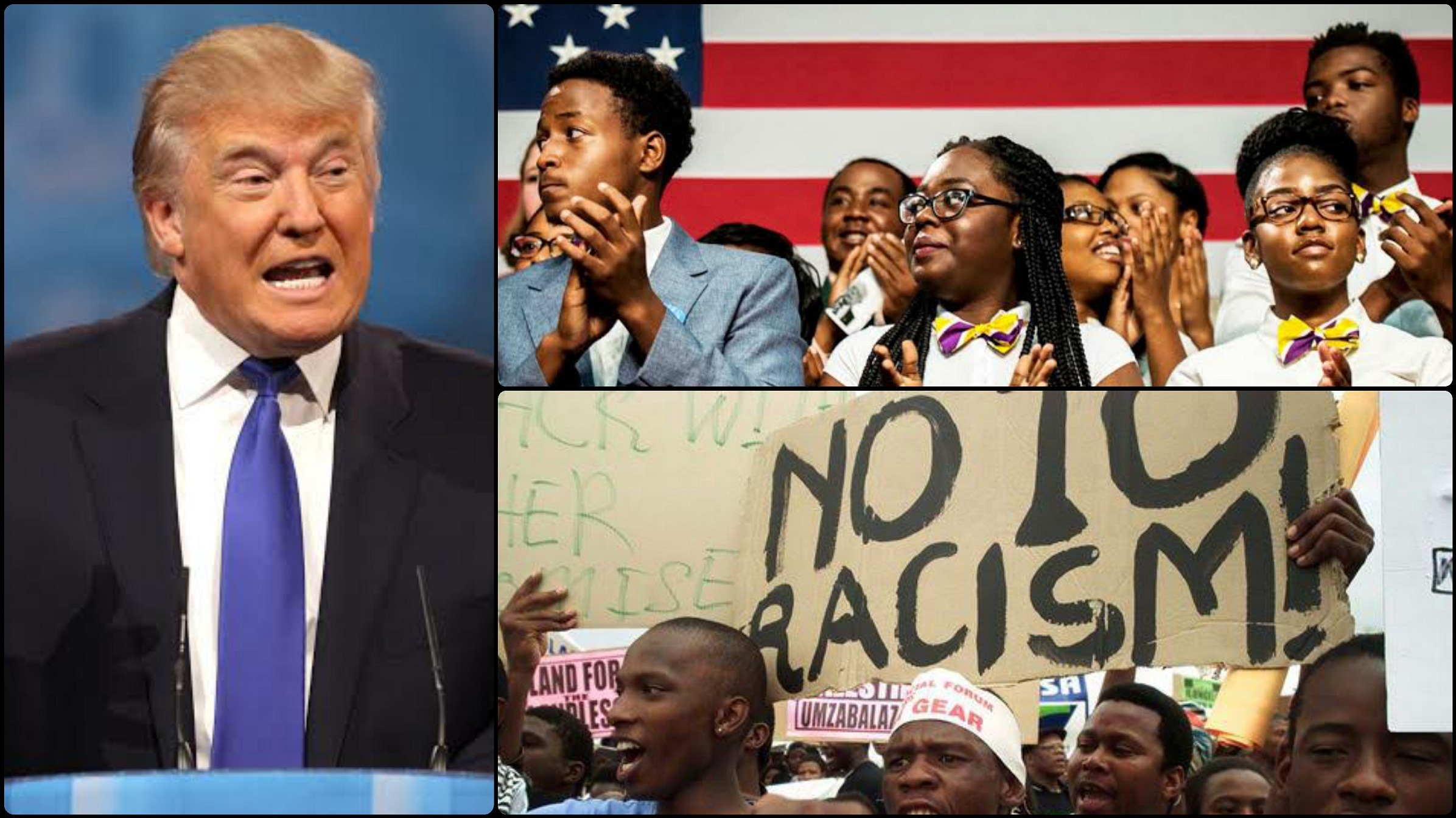 Sources Say That Trumps Racist Tweets May Violate The US Constitution 2