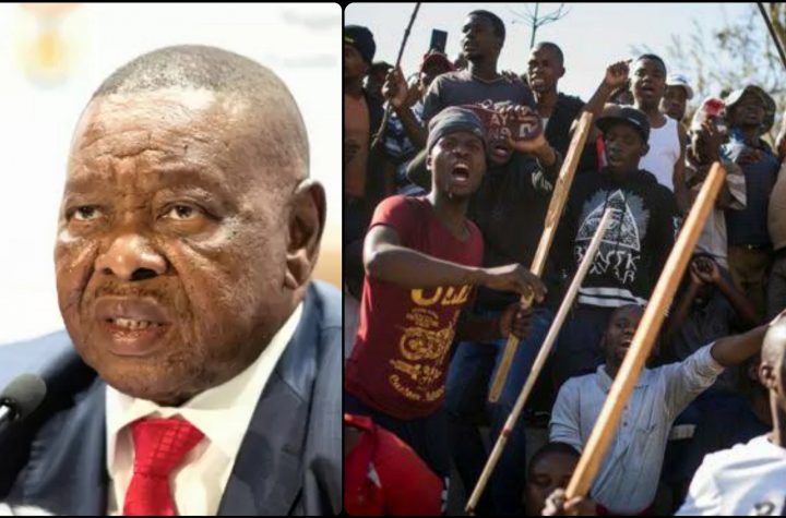 South African Minister Blames Nigerian Leaders And Others For Xenophobic Attack