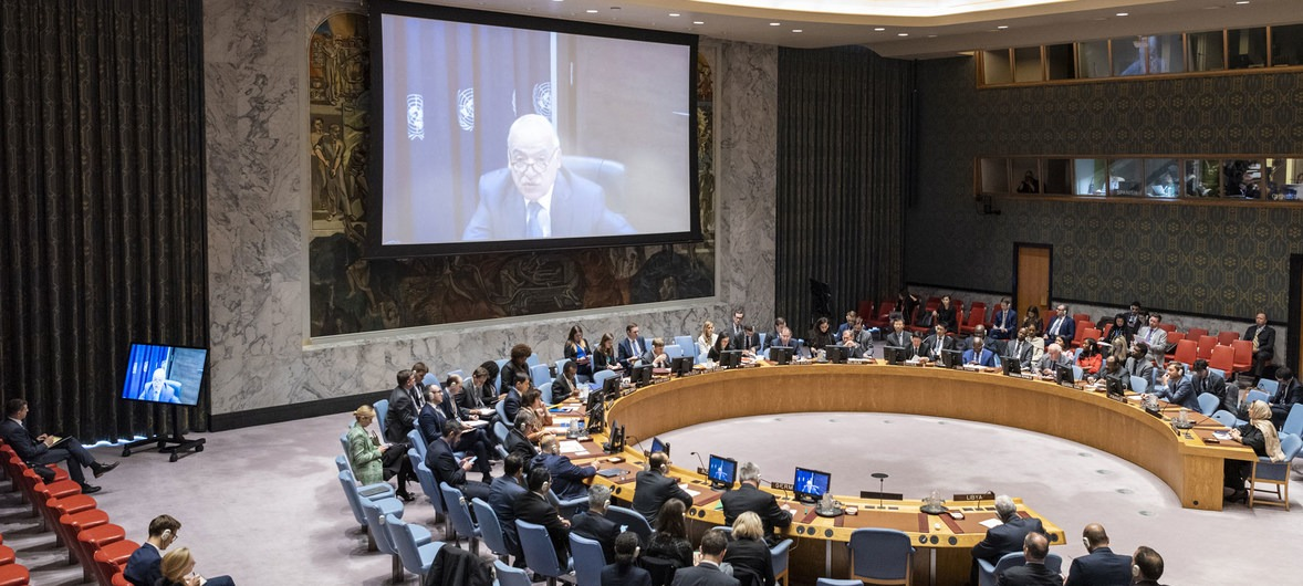 Restoring Libyas Stability Requires Refusing Foreign Interference Says Libyan UN Envoy