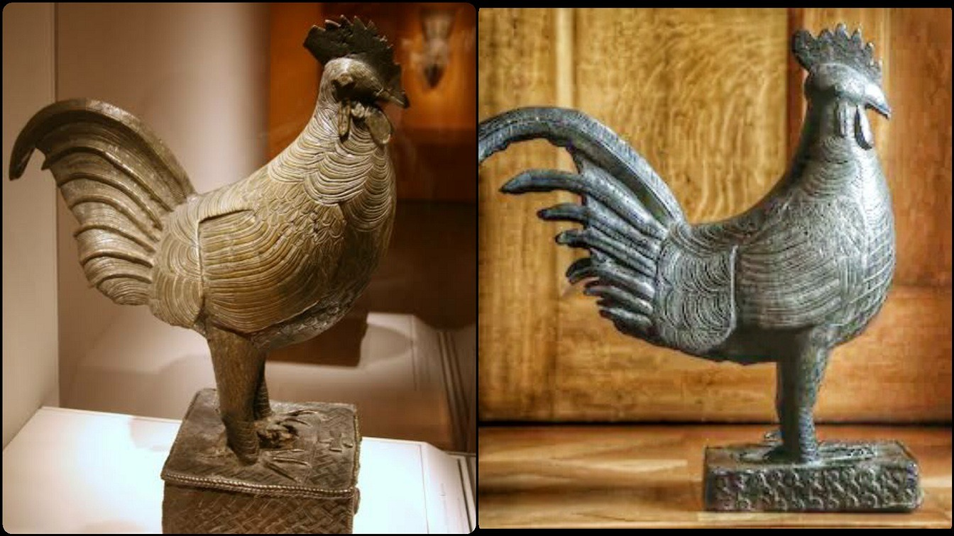 Stolen Bronze Cockerel To Be Returned To Nigeria By The Cambridge 'Jesus' College