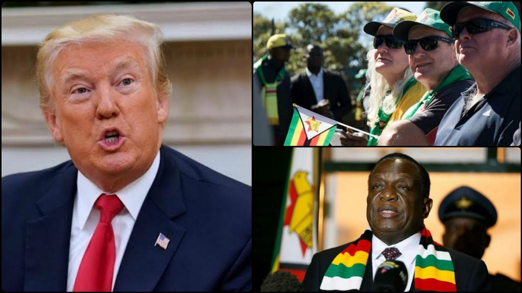 US Government Asked Zimbabwe To Return Their Lands To White Farmers To Escape Sanctions