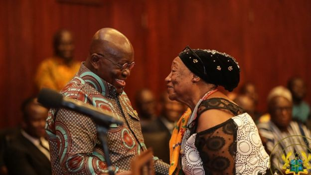 President Akufo Addo Greats One Of The Africans From Diaspora