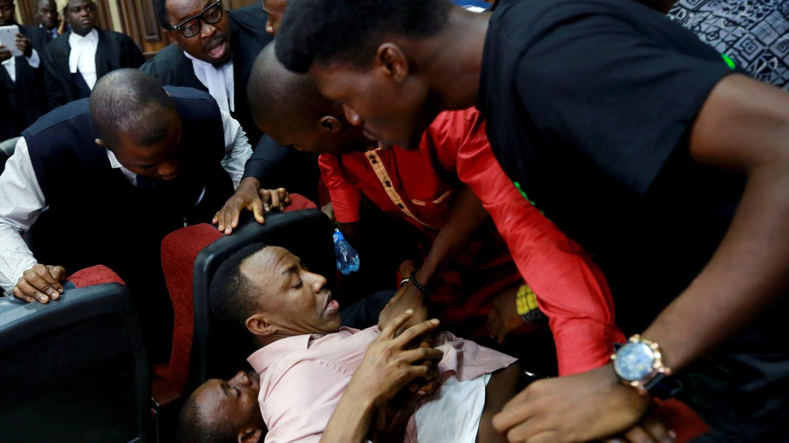 Sowore Nigerian Journalist Re Arrested Few Hours After Court Ordered His Release