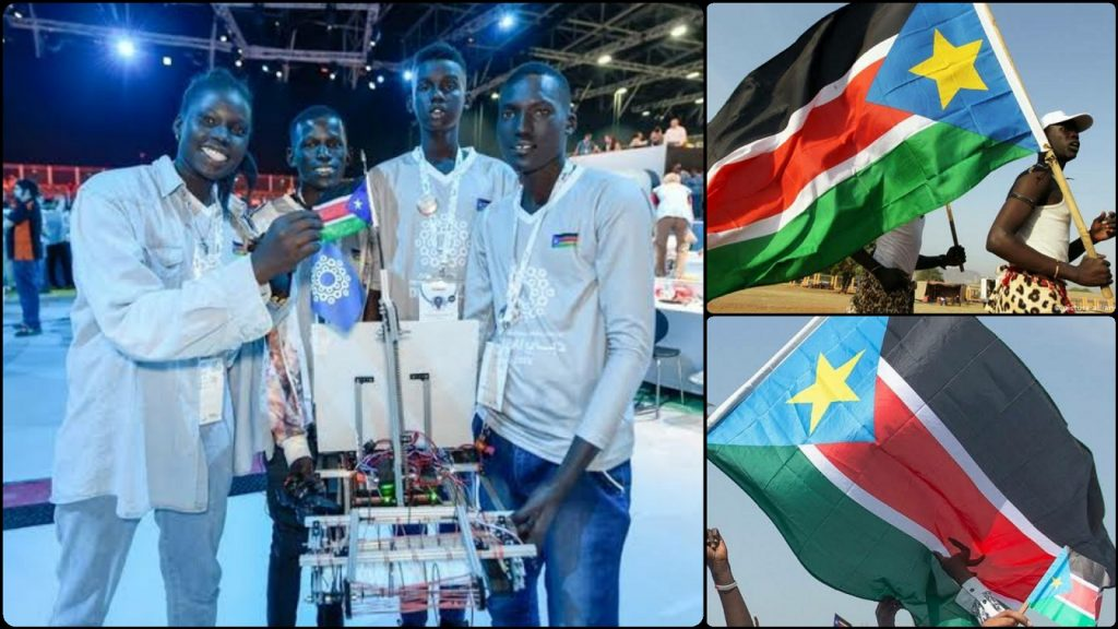 South-Sudan Robotics Team Invents Robot That Can Rid The Nile Of Plastic Pollutants