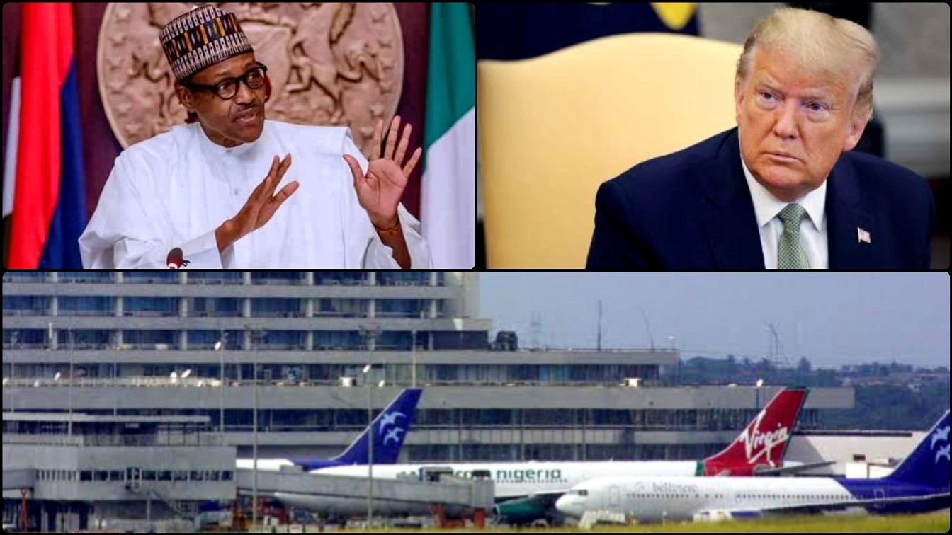 Breaking News Nigeria Places Ban On U.S.A And 12 Other Countries