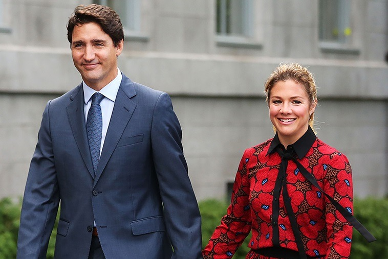 Canadian Prime Ministers Wife Tests Positive For Corona Virus