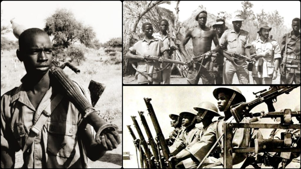 Chapters Of History First Sudanese Civil War From 1955 To 1972
