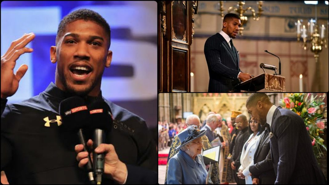 Commonwealth Speech Anthony Joshua Pays Tribute To His Nigerian Heritage Before The Royal Family