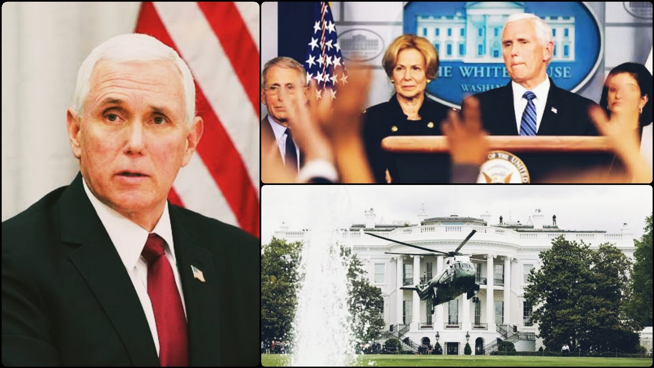 Corona Virus Now In The White House - Vice President Pences Staff Infected