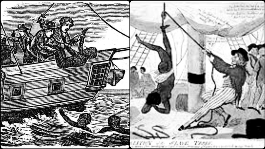 How Captain Of Zong Slave-Ship Massacred 132 Africans Onboard Ship In 1781
