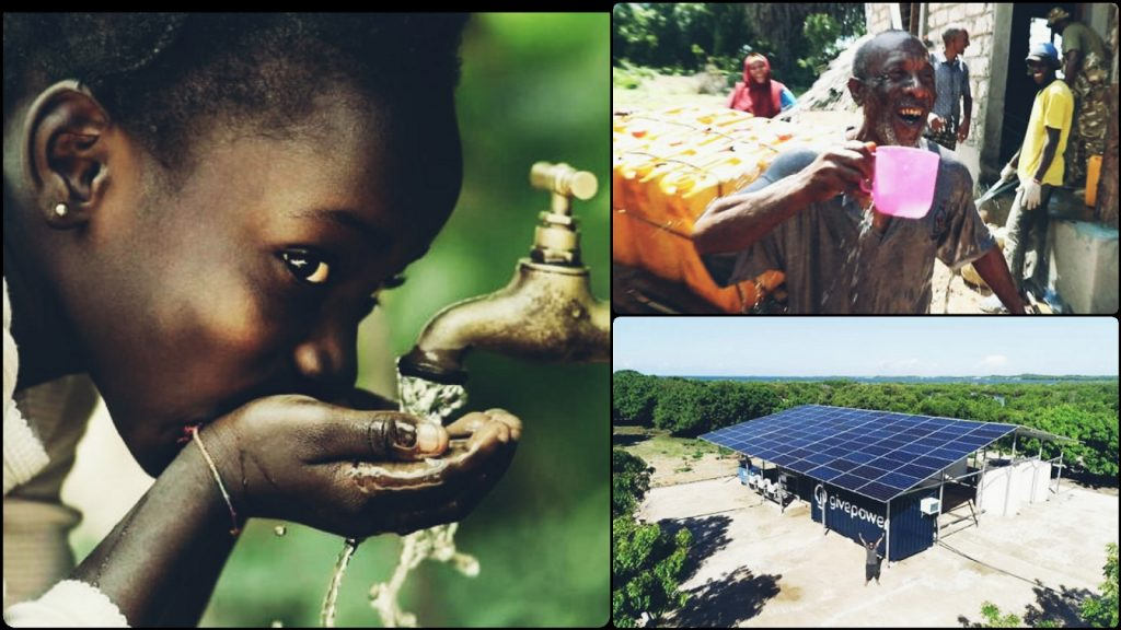 Kenya Installs A Solar Power Plant Which Transforms Ocean Water To Drinking Water