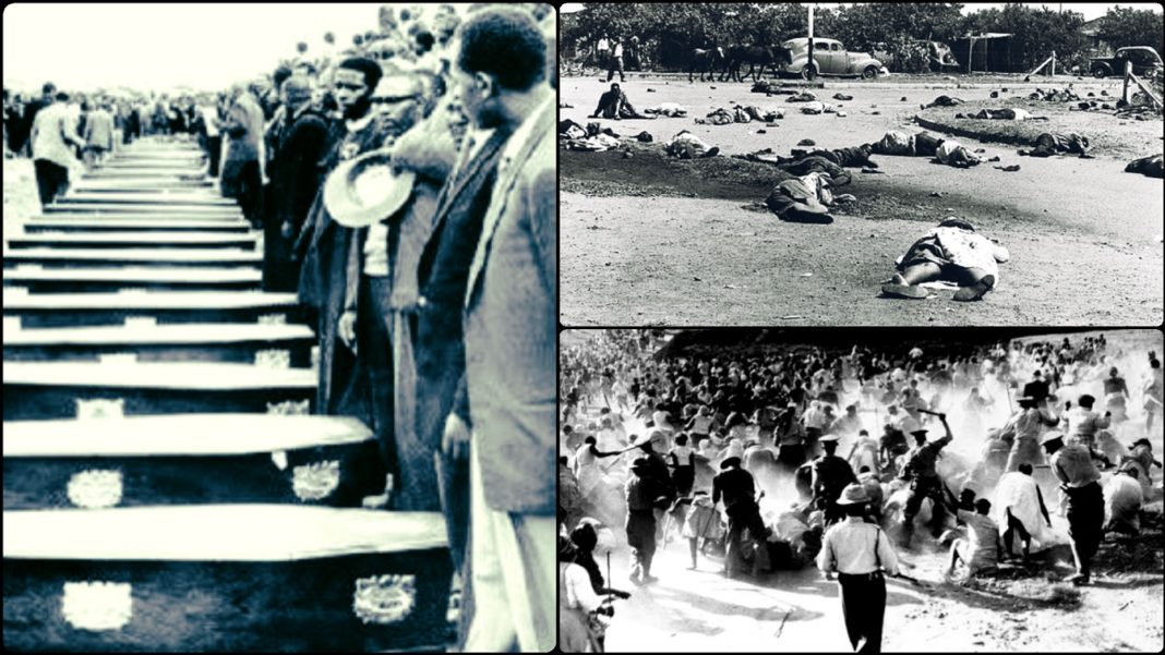 The Massacre Of Over 69 South-Africans By White Cops In 1960 (Sharpeville Massacre)