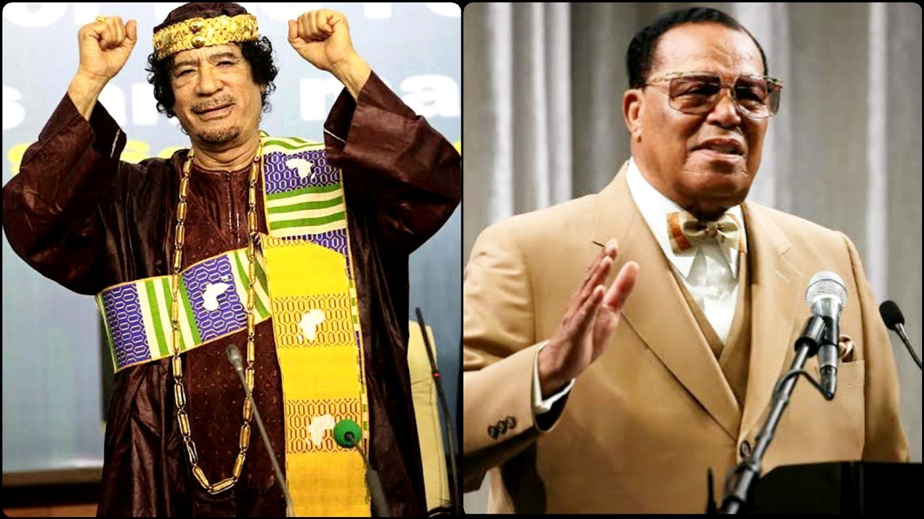 How The U.S Government Blocked $1 Billion Gift From Gaddafi To Farrakhan In 1996