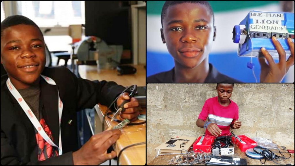 Remembering The 13 Year Old Self-Taught Inventor From Sierra Leone