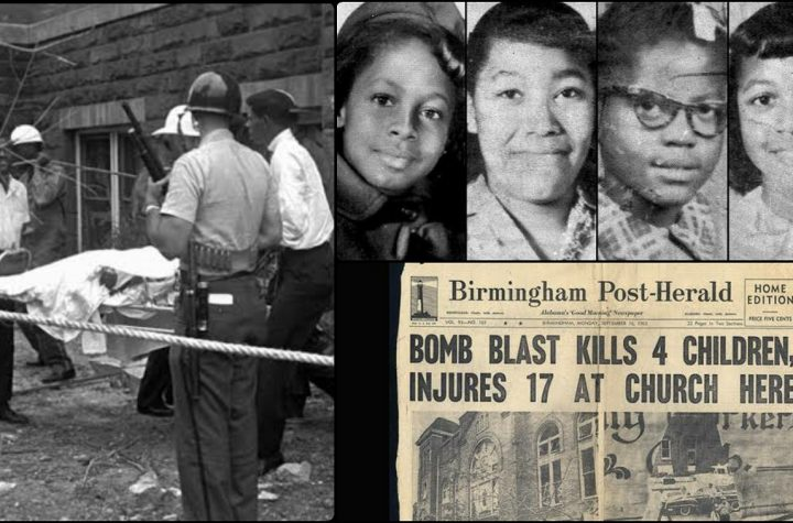 Black Girls Died From A Bomb Planted In A Church By White Men In Birmingham In 1963