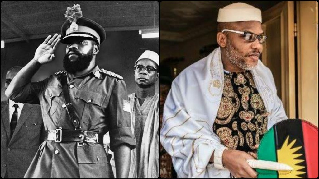 The Role Of Literature In The Images Of Odumegwu Ojukwu And Nnamdi Kanu