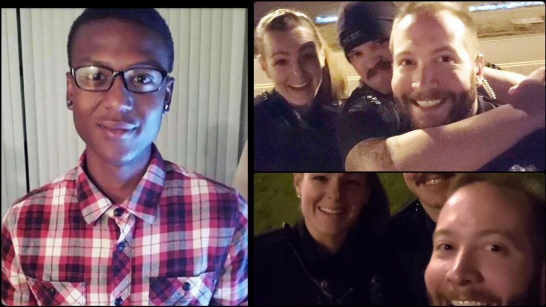 3 Colorado Officers Smiling And Reenacting Chokehold Used On Elijah McClain