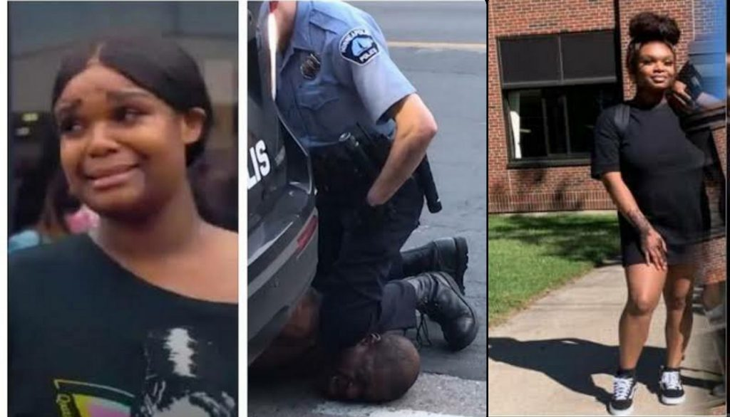 George Floyd Teen Who Filmed The Minneapolis Mans Death Forced To Flee Home Over Online Abuse