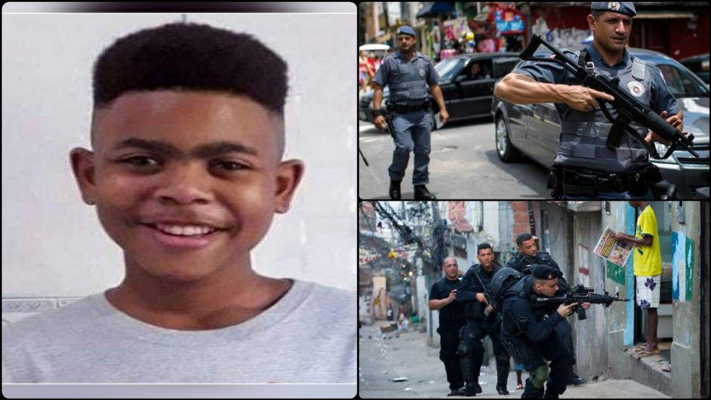Police Kills 14 Year Old Leaving Over 70 Bullet Marks Brazilians Are Outraged