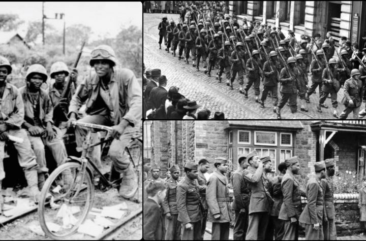 Battle Of Bamber Bridge - Black Soldiers Rioted Against Racists White U.S Soldiers In Britain In 1943