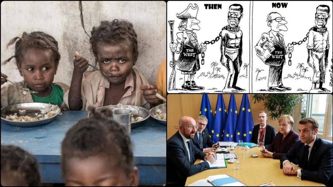 Neo-Colonialism Is The Reason Africa Is Backwards - Africans Live On A Continent Owned by Europeans