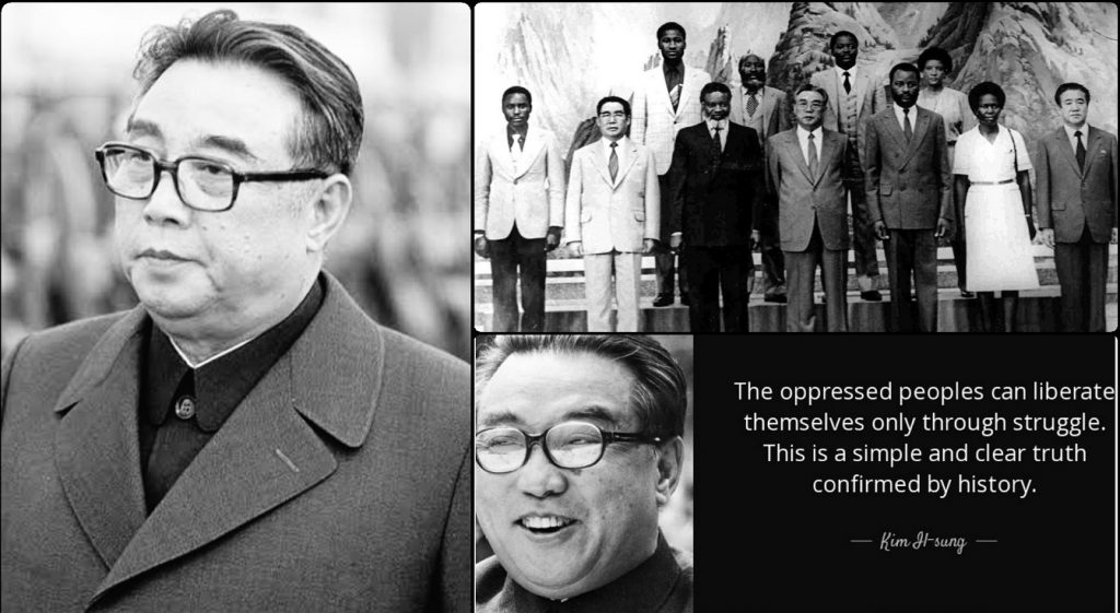 The Immortal Contributions Of President Kim II Sung Of North Korea To African Liberation