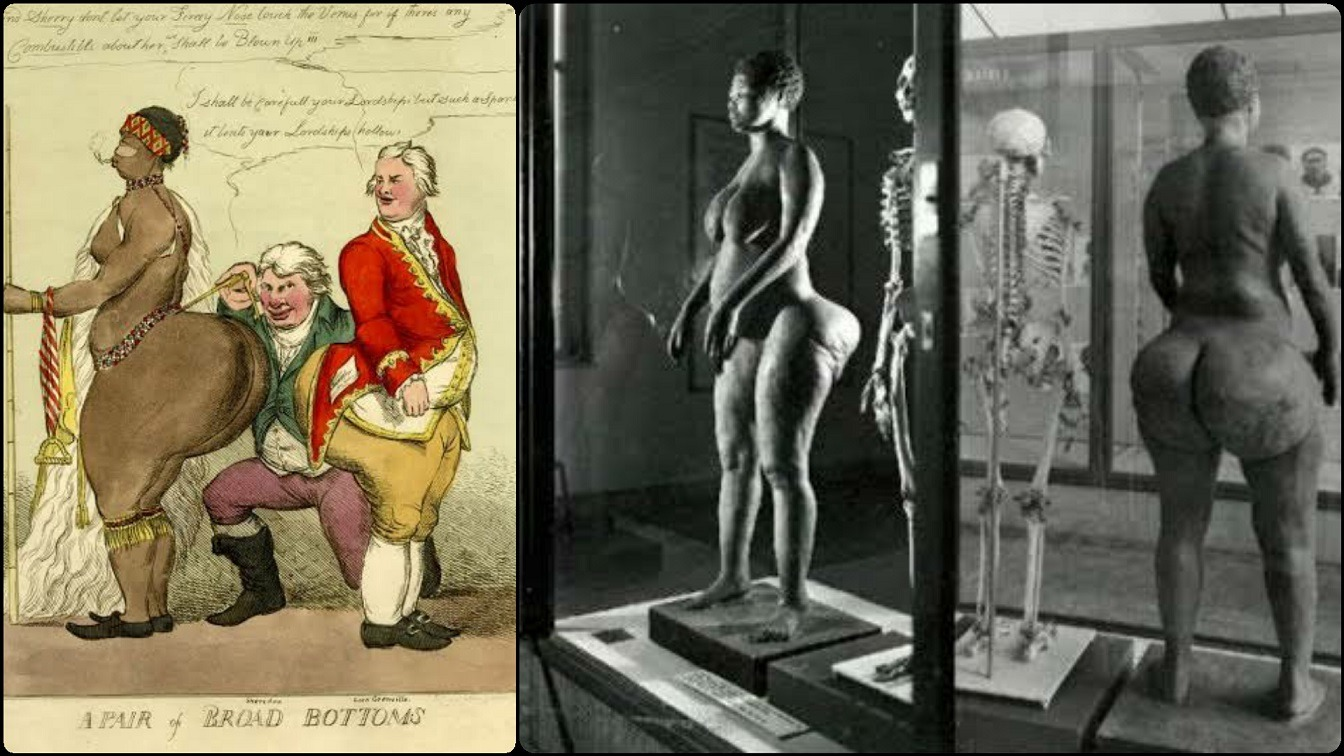 The Sad History Of Sarah Baartman - African Woman Sexualized And Put On Display For Her Shape