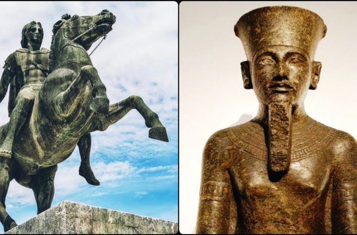 Alexander The Great Gained Power After Meeting With Ancient Egyptian Oracle Head