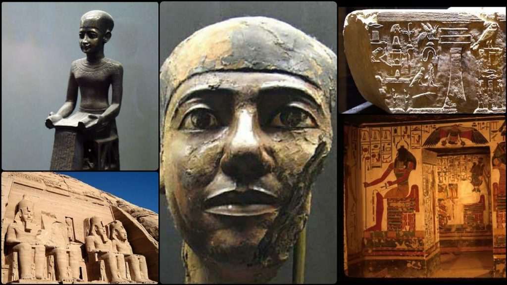 Imhotep The Real Father Of Medicine And The First Architect Of Pyramids In Egypt