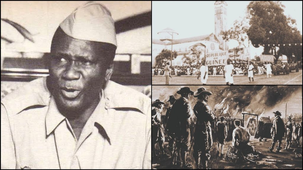 How France Burnt Buildings And Medicine When Guinea Demanded Independence In 1958
