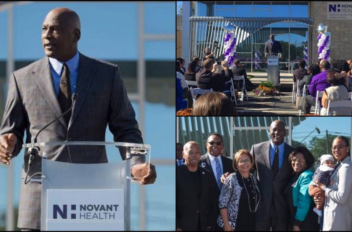 Michael Jordan Opens 2nd Clinic For Patients Without Health Insurance In Charlotte