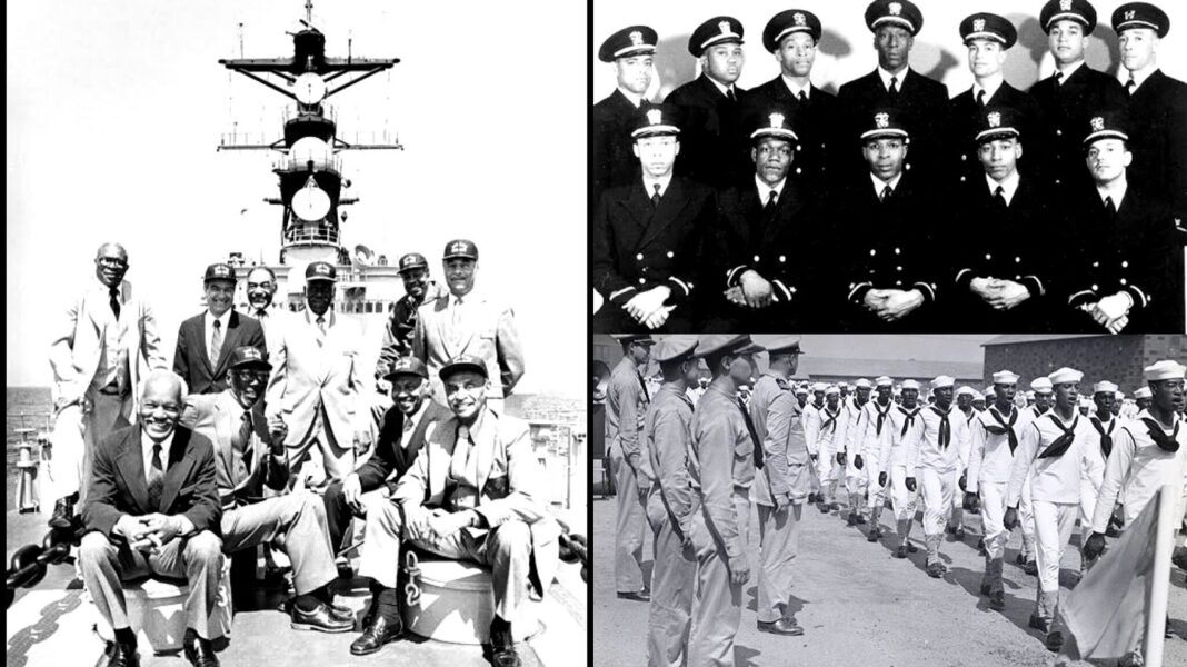 Remembering The 13 Gallant Black Men Who Ended The Segregation Of Blacks By U.S Navy In 1944