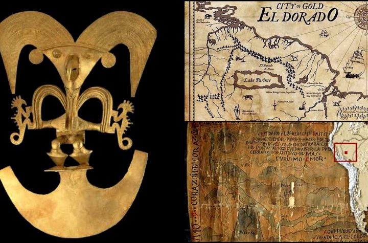 A Legend Of The Famous City Of El Dorado - The Lost City Of Gold