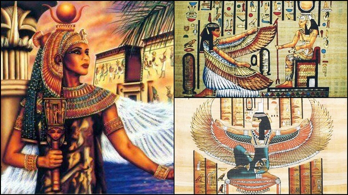 The Ancient History Of The Egyptian Goddess Isis - Mother Of Horus