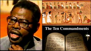 Video Dr Ben Says The 10 Commandments Was Copied From Egyptian Book Of The Dead