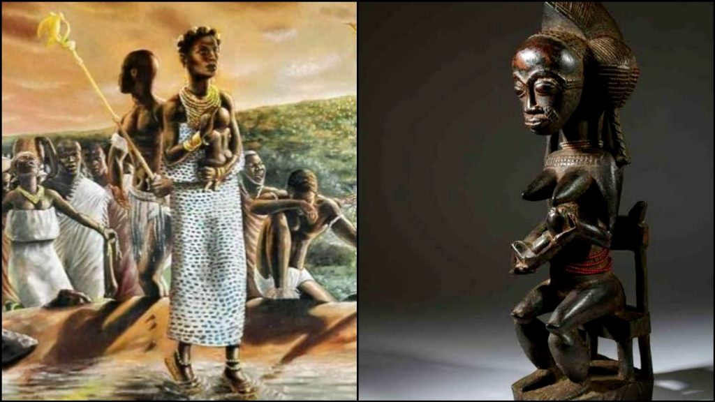 Noble History Of Queen Pokou Founder Of Baoule Group Of West Africa