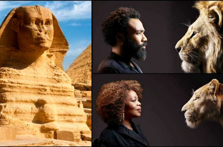 The Great Sphinx - Means The Higher Consciousness Of Man Dominating His Animal Nature