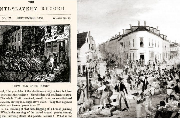 A Brief History Of The Anti-Abolition Riots Of 1834 In The United States Of America