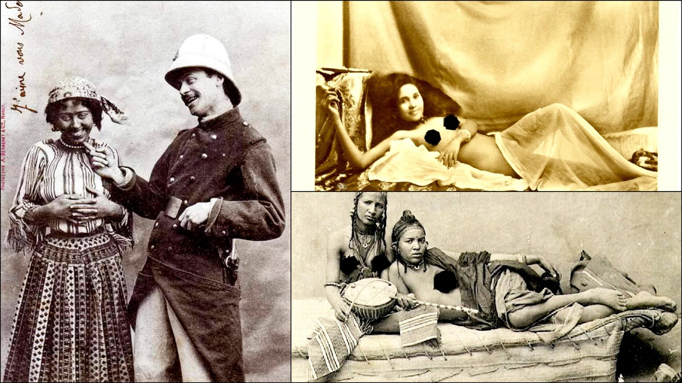 Colonialists Used Pictures Of Naked African Women To Lure European Volunteers & Rapists To Africa