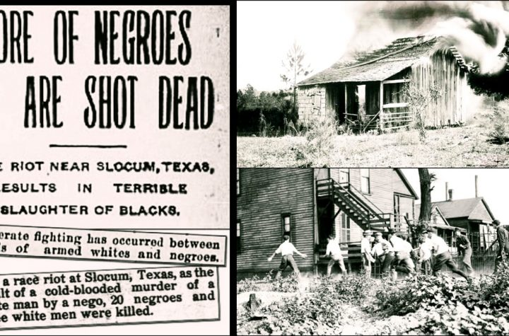 How White Mob Massacred 400 Blacks In Slocum, Texas And Took Over Their Properties In 1910