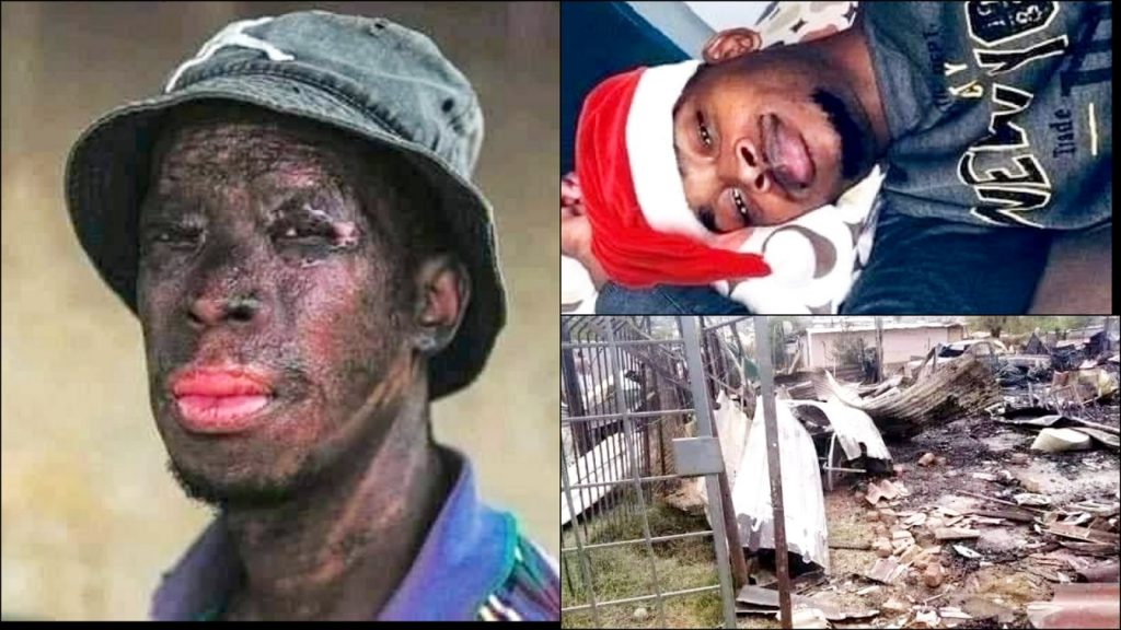 Meet Brave South-African Man Who Entered A Burning House To Save Two Children