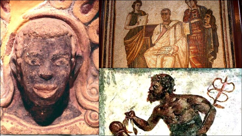 The Etruscans History Of The First Romans Who Were Black People