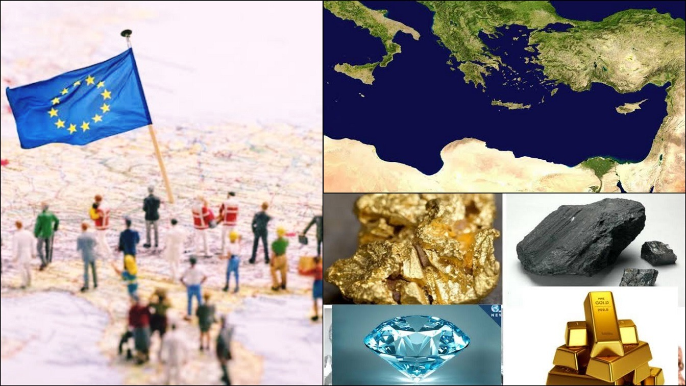 The Plan To Drain The Mediterranean, Merge Africa And Europe, And Cart Away Africa's Resources From the 1920s