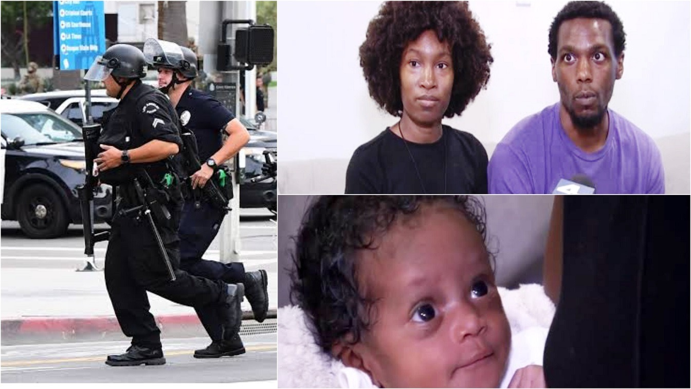 15 Los Angeles Police Storm Black Couple's Home Hours After They Refused A Blood-Draw For Their Newborn Baby