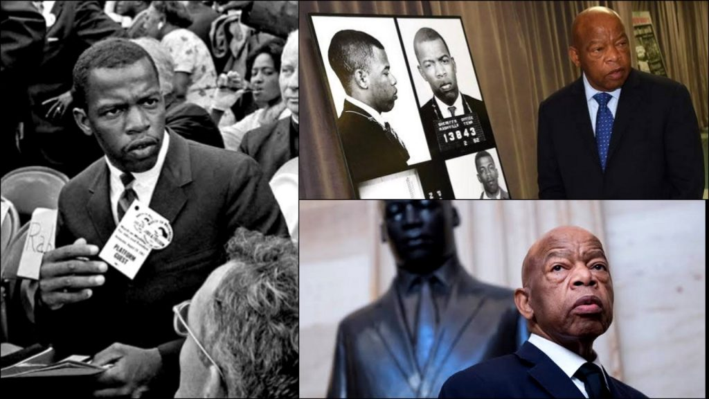 A Memorial Of John Lewis Will Replace Confederate Monument Pulled Down In Atlanta