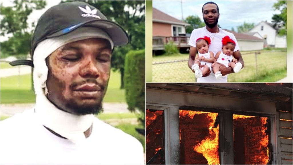 Black Man Saves Infant Twin Daughters From Burning House, GoFundMe Raises Over $200K