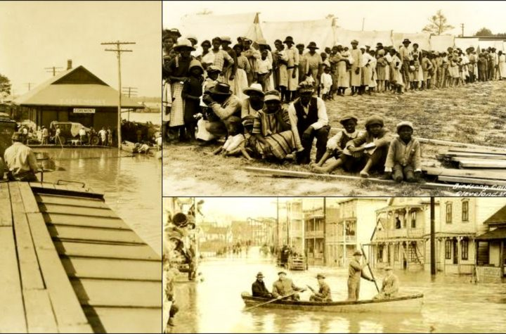 How 2,000 Blacks Were Held At Gunpoint & Used As Barriers During The Great Mississippi Flood Of 1927