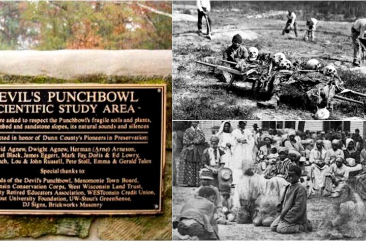 How 20,000 Freed Slaves Died In Mississippi Concentration Camp From Starvation After The Civil War Devils Punchbowl