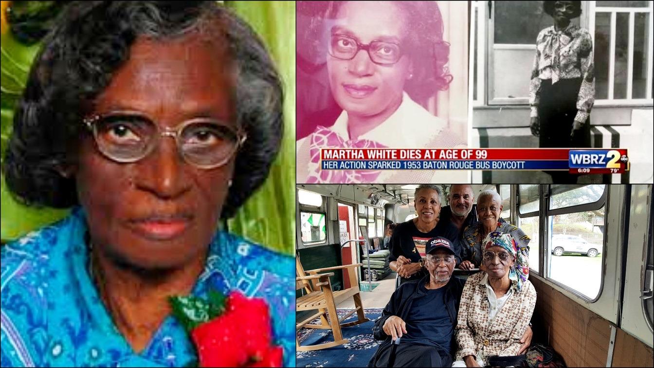 Martha White Civil Rights Pioneer Who Inspired The Baton Rouge Boycott In 1953 Dies At 99